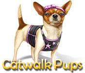 Catwalk Pups game play