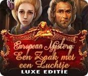 Functie screenshot spel European Mystery: Een Zaak met een Luchtje Luxe Editie