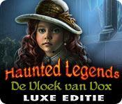 Functie screenshot spel Haunted Legends: De Vloek van Vox Luxe Editie