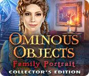 Functie screenshot spel Ominous Objects: Family Portrait Collector's Edition