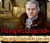 Functie screenshot spel Vampire Legends: Wat er Echt in Kisilova Gebeurde