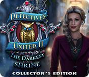 Har skärmdump spel Detectives United II: The Darkest Shrine Collector's Edition