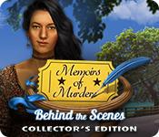 Har skärmdump spel Memoirs of Murder: Behind the Scenes Collector's Edition